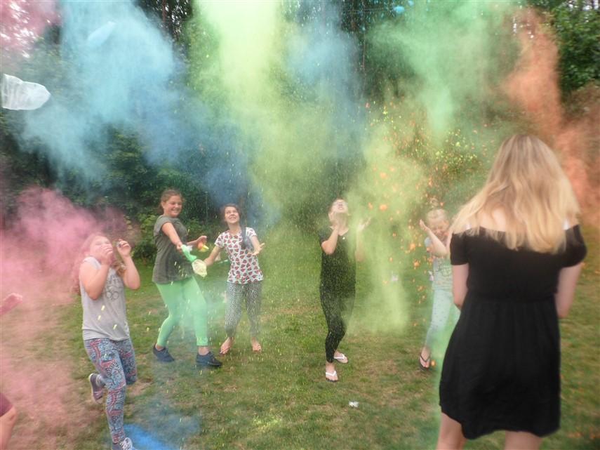 Ilustracja do informacji: Festiwal kolorów