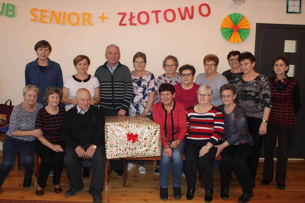 """Ilustracja do informacji: Z wizytą u seniorów - czyli co słychać w Klubie """"Senior +"""" w Złotowie"""