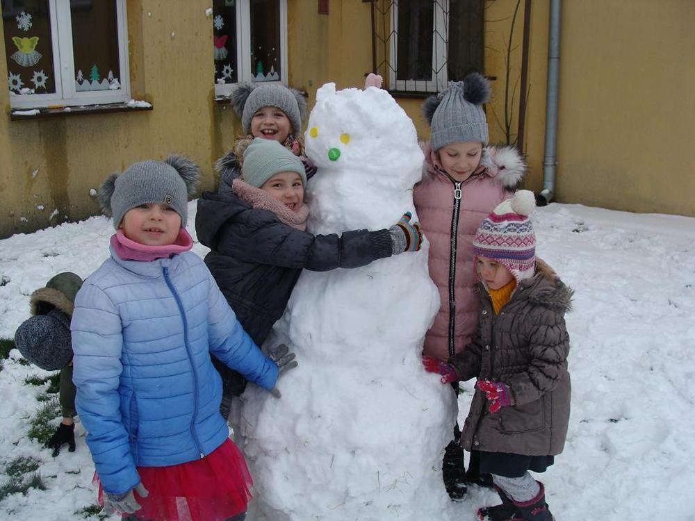 Ilustracja do informacji: Zimowo w Sampławie
