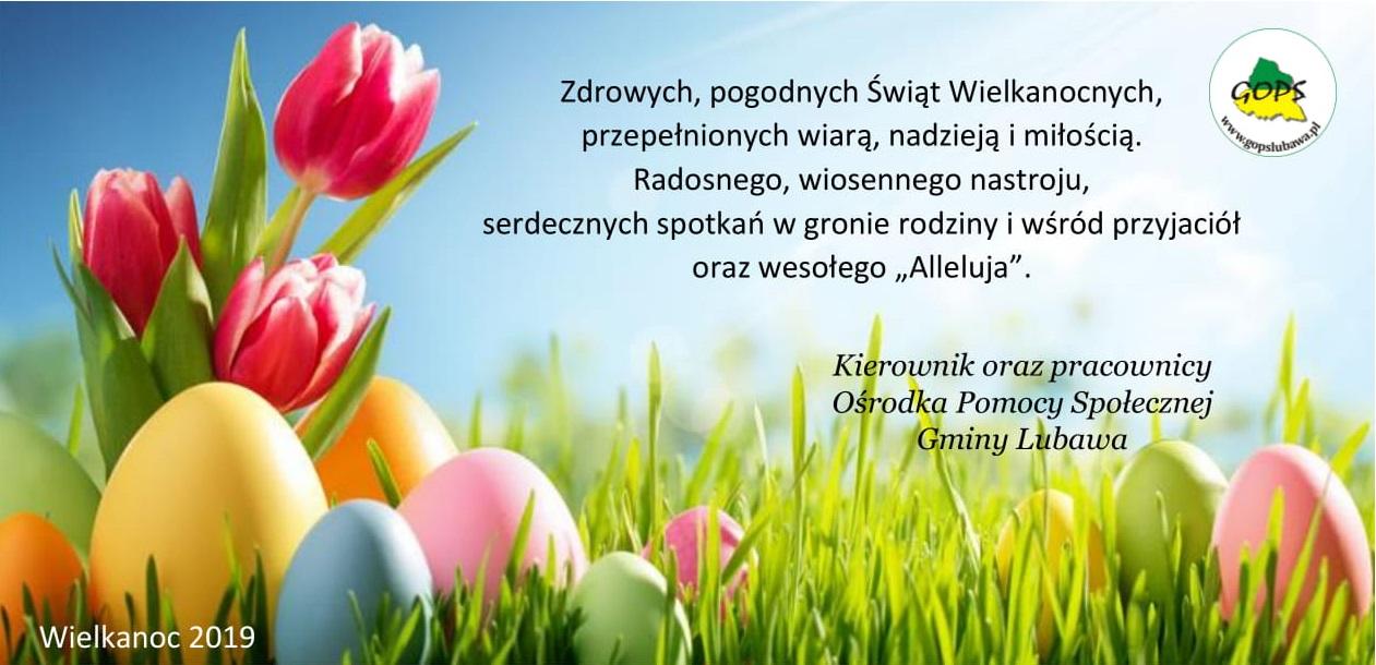 Ilustracja do informacji: Życzenia Wielkanocne