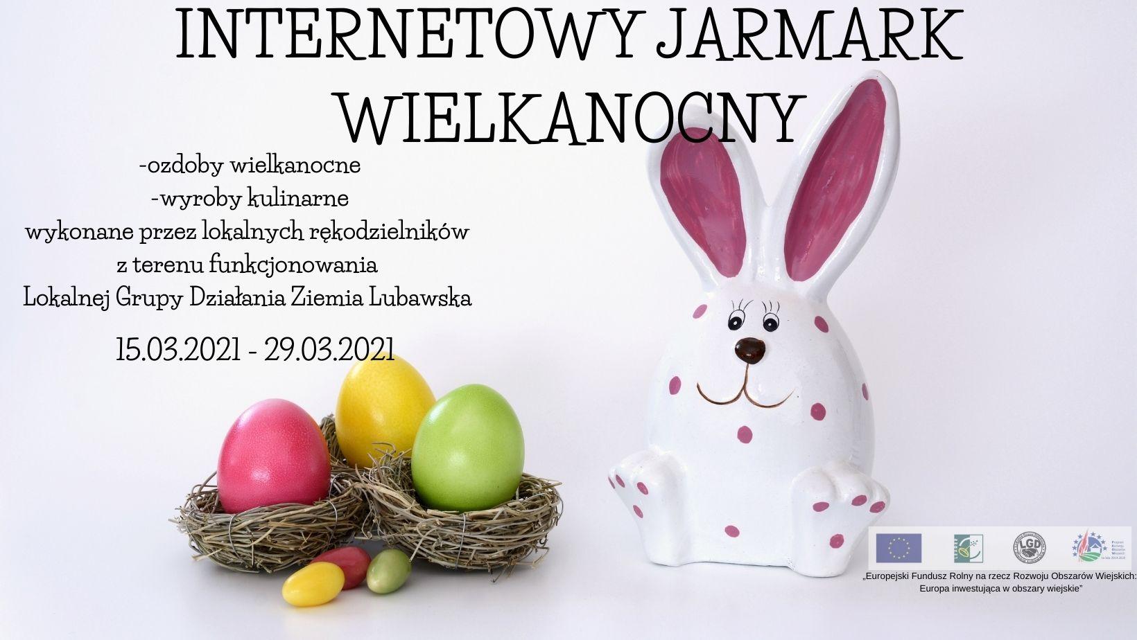Ilustracja do informacji: Internetowy Jarmark Wielkanocny