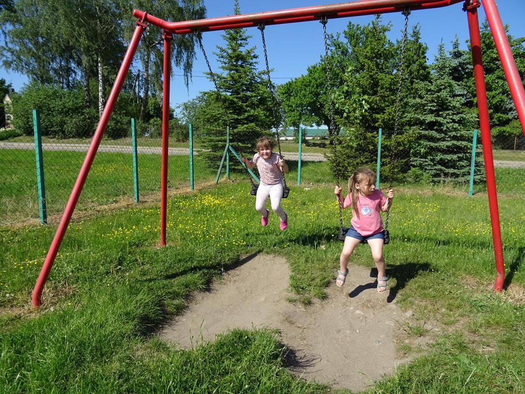 Ilustracja do informacji: Dzieci ze Szczepankowa miło spędzają czas