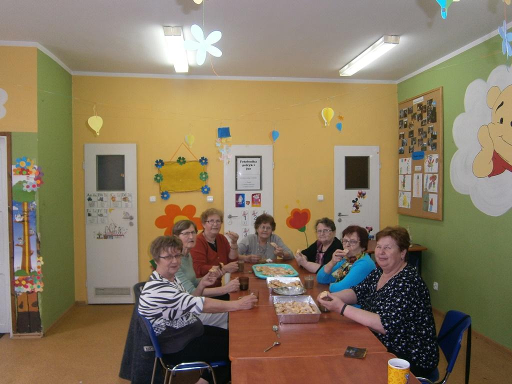 Ilustracja do informacji: Zajęcia w Klubie Seniora w Łążynie