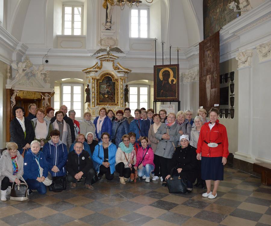 Ilustracja do informacji: Seniorzy w Częstochowie