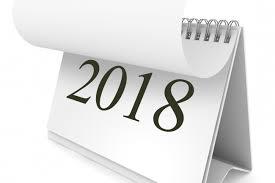 Ilustracja do informacji: Kalendarz imprez i wydarzeń społecznych w 2018 roku